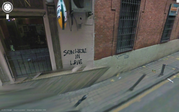 Ciudad Real Spain Skinhead in Love.