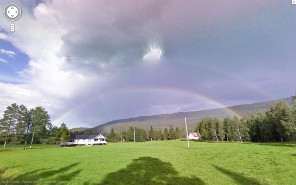 double rainbow norway